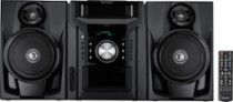 Sharp 240W 5-Disc Mini Shelf System with cassette and Bluetooth Black CDBH950 - Best Buy