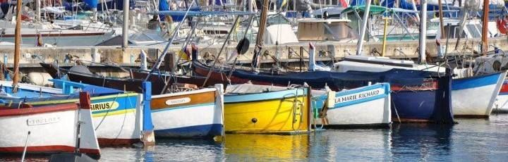 Boats in St. Maxime