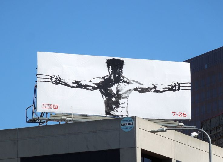 The Wolverine billboard - See best of PHOTOS of the WOLVERINE film  http://www.wildsoundmovies.com/the_wolverine_billboard.html