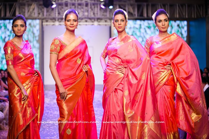 Red Silk Saree Designs for Weddings