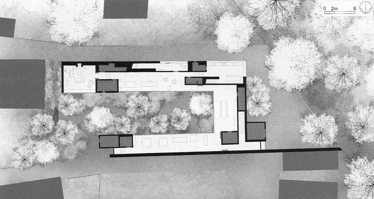 HAUS ZUMTHOR, HALDENSTEIN, 2005 plans I sections