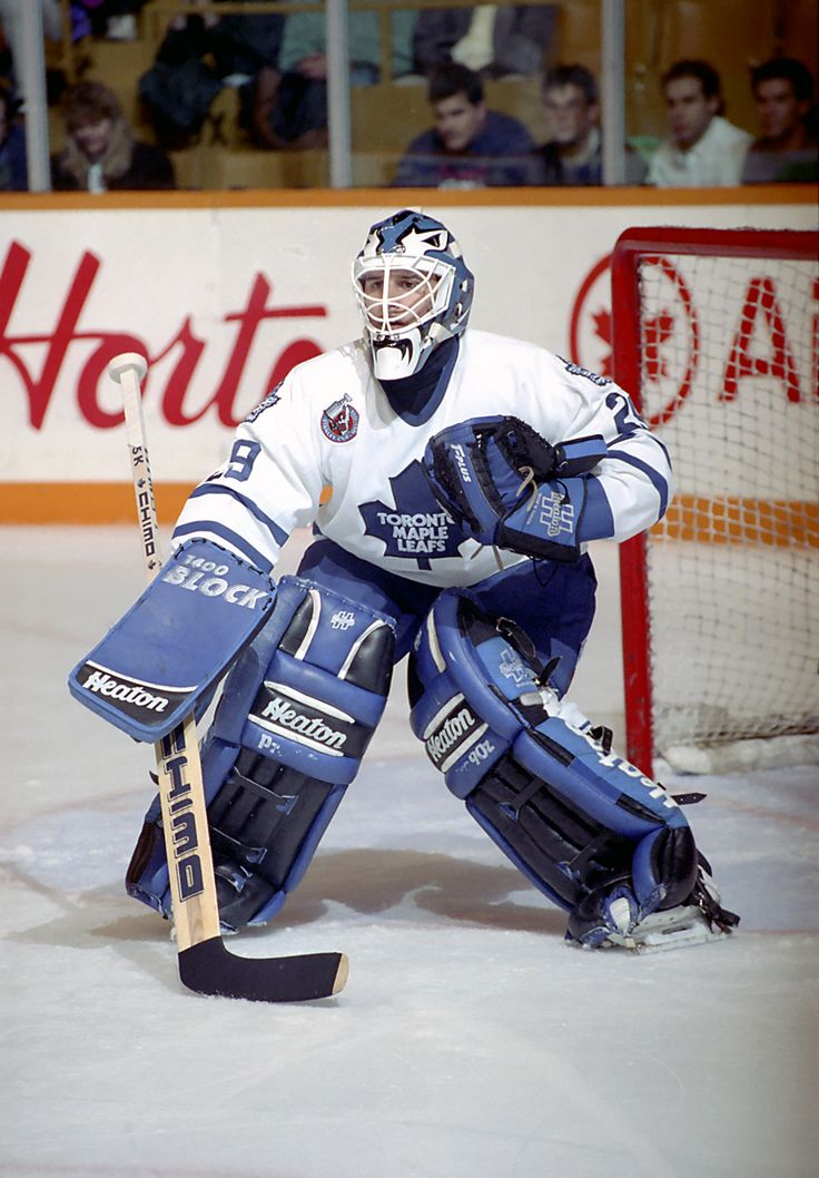 "Felix ""The Cat"" Potvin, Toronto Maple Leafs"