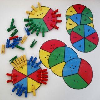 Předškoláci - Kolíčky a počty