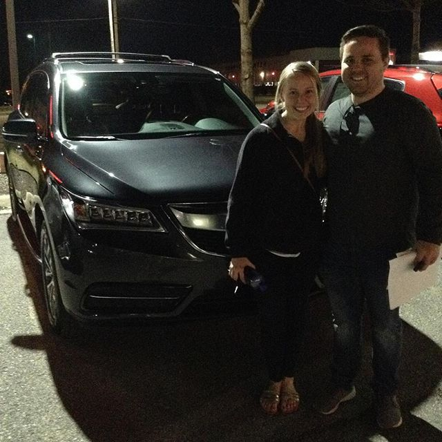 Thanks To Nate And Madison For Making The Drive From The Lee Summit Mo To Purchase A 2015 Acura Mdx From Nick Welcome To The Lawrence Kia Kia Acura Mdx Acura