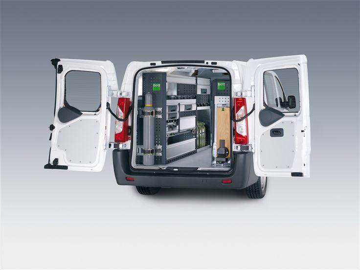 Fiat Scudo bedrijfswageninrichting