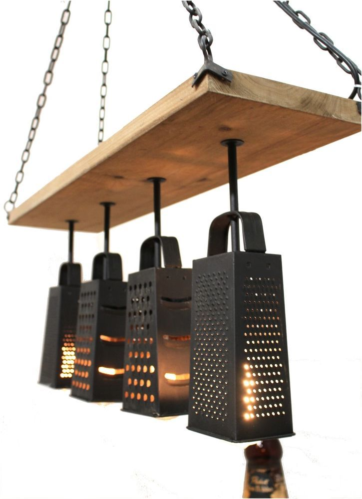 Kitchen Light Fixtures Cheese Grater And Grater On Pinterest