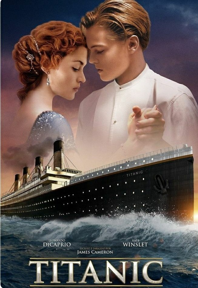 titanic 1997 leo dicaprio and kate winslet タイタニック タイタニック 映画 映画 ポスター