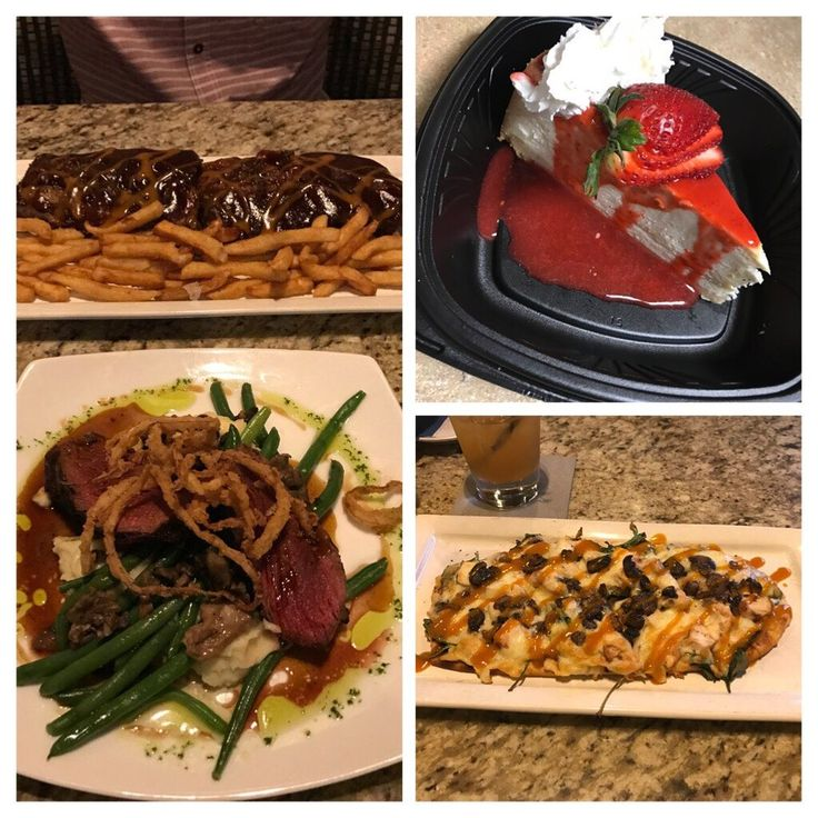 Photo of Second Street American Bistro - Newport News, VA, United States. Ribs were excellent , steak was not that great , green beans were very hard , flat bread was AMAZING and cheesecakes