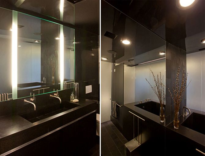 Modern Apartment Interior Design With Modern Led Mood Lighting By Joel Sanders