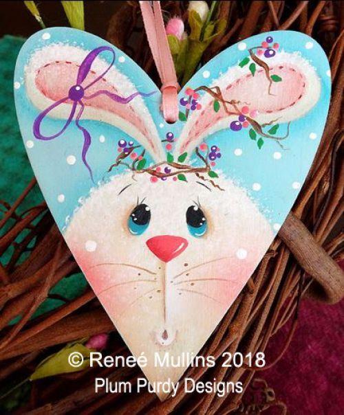 #726 Spring Time Bunny Tag (PATTERN/KIT)