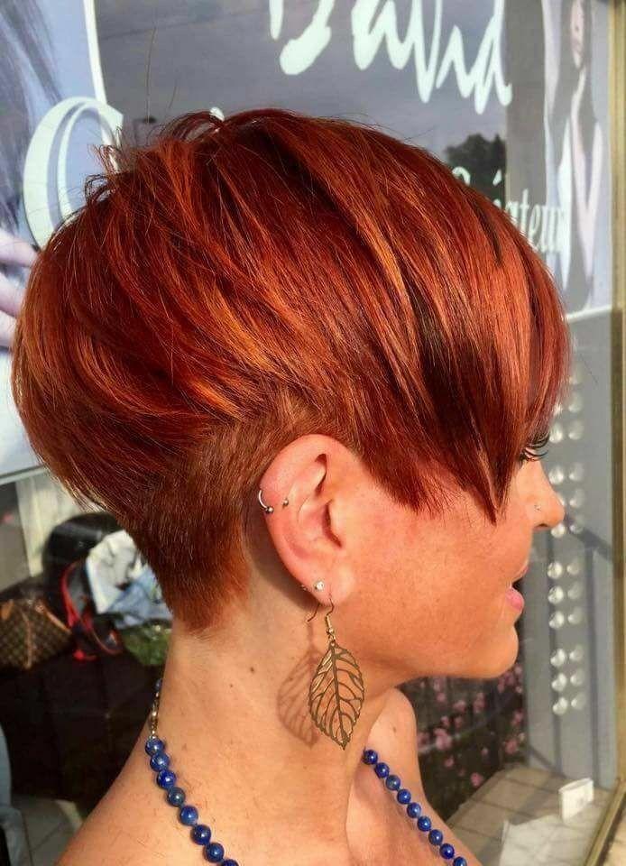 Pixie Haare schneiden #haare #pixie #schneiden