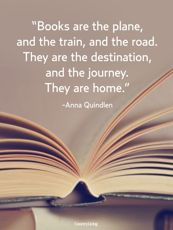Quote for the Ultimate Book Lover  -  Photo: Getty; Design: Michael Stillwell