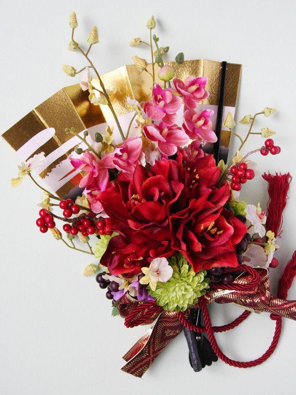 kukkaのウエディングフラワーABC-和装 和婚 和風 ブーケ