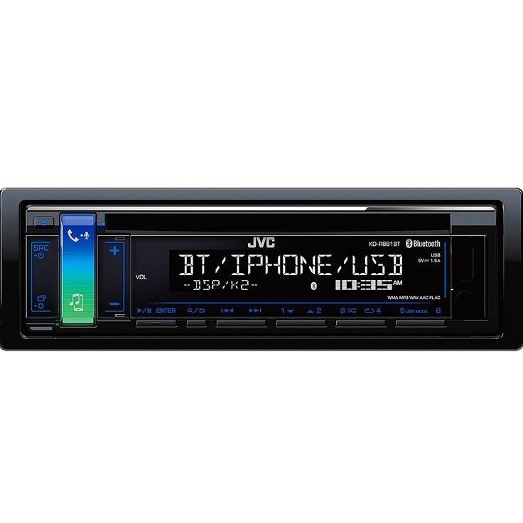 notebooksbilliger JVC KD-R881BT - 1-DIN Autoradio (4x50 Watt, Bluetooth, CD-Laufwerk, USB, Aux-IN): Item number: A 675492…%#Quickberater%