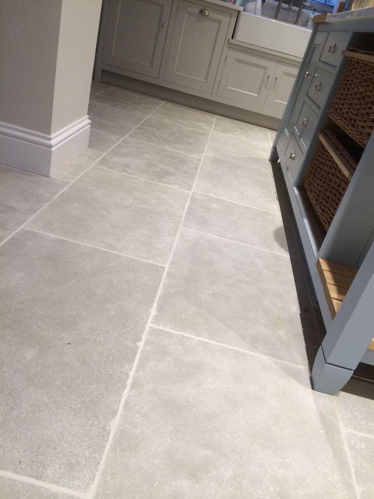 Morocco Grey Limestone Tile Grey Limestone Morocco Tile Tile Floor Grey Kitchen Floor Trendy Farmhouse Kitchen