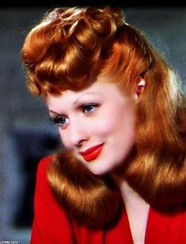 Image result for lucille ball in color