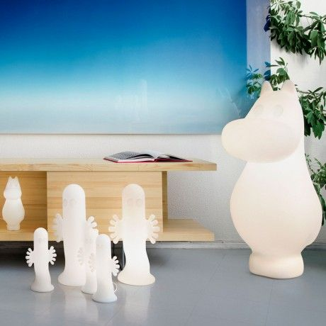Large Moomintroll Lamp by Moomin Lights designed in Finland #MONOQI