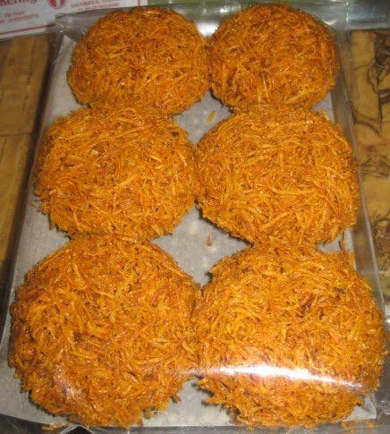 Makanan Indonesia/Sunda (Indonesian/Sundanese food/snack) Kremes Ubi