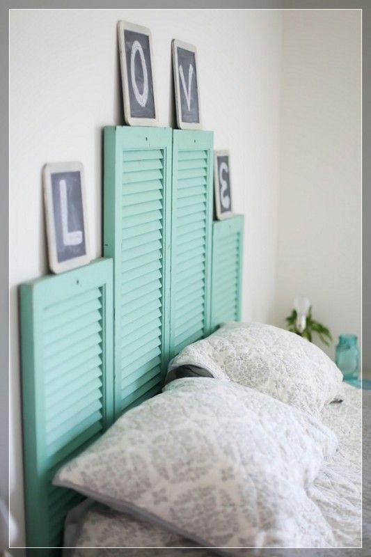 54 DIY Headboard Ideas to Make Your Dream Bedroom - Snappy Pixels