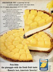 Dole Hawaiian Pineapple Cheesecake Pie...my mom used to make this when i was a kid