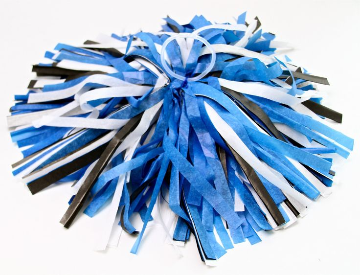 DIY Cheerleading Pom Poms