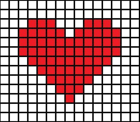 cross stitch heart - Google Search