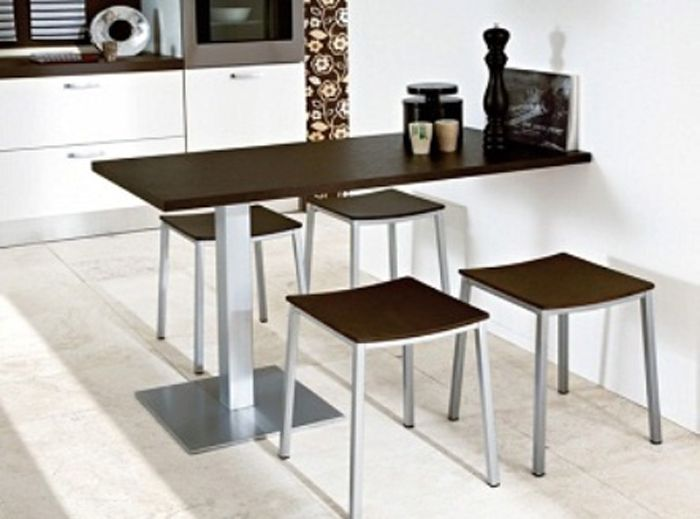 Contemporary Dining Room Tables For Small Spaces