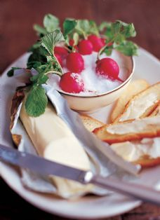 Barefoot Contessa - Radishes with Herbed Butter & Salt