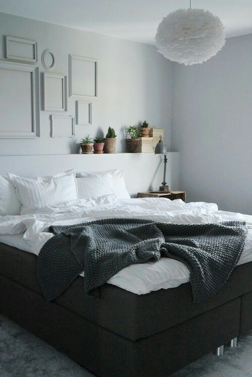 Sovrum sovrum grey : 17 Best images about Sovrum on Pinterest   Grey, Lamps and Bedspreads