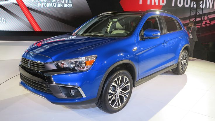 "Mitsubishi's best-selling crossover just got a facelift at the 2015 L.A. Auto Show.Now equipped with the Japanese automaker's ""Dynamic Shield"" front d..."