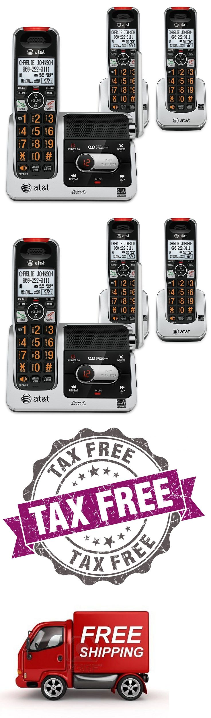 Cordless Telephones and Handsets: Atandt Crl82312 Dect 6.0 Phone Answering System With Caller Id Call Waiting 3 C... -> BUY IT NOW ONLY: $67.39 on eBay!