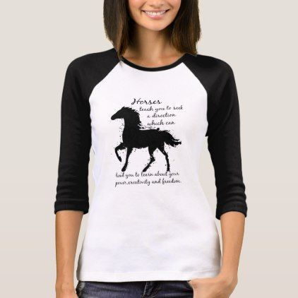 Horse Totem Animal Spirit Guide Wisdom or Advice T-Shirt - diy cyo personalize design idea new special