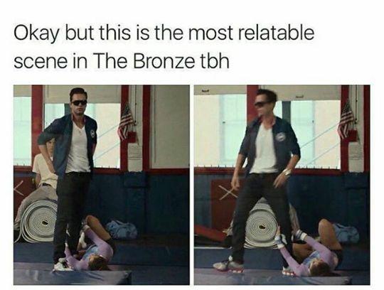 Lmao!!! Sebastian Stan, The Bronze