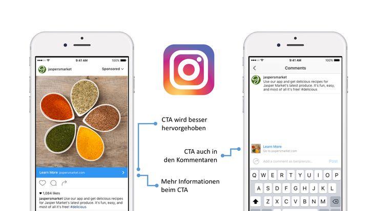 Anzeigen auf Instagram sind gerade mal ein Jahr alt und bei uns im Blog findet ihr auch eine komplette Anleitung für das Erstellen von Instagram Anzeigen. Ein großer Unterschied der Anzeigen auf Instagram im Vergleich zu normalen Posts ist die Möglichkeit, dort eine Call-to-Action zu [... mehr ...]
