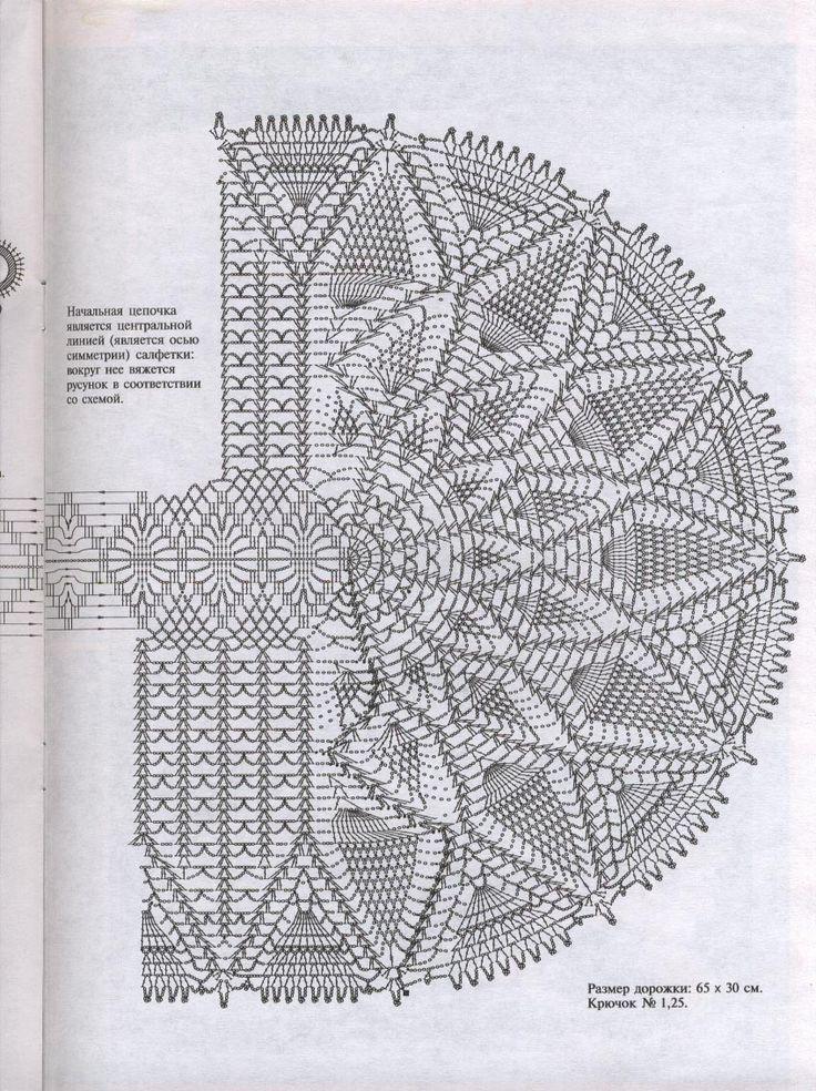 Crochet Table Runner Diagram