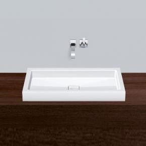 Alape AB.RE700.4 Countertop washbasin W: 70 D: 39.8 cm without tap hole white