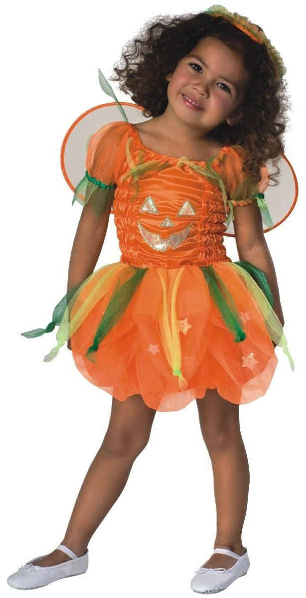 Pumpkin Pie Toddler Fairy Costume