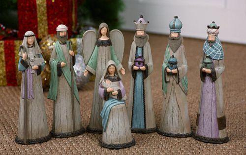 Nativity Contemporary Design - Set - 7 Piece Style 4934 - F.C. Ziegler Company