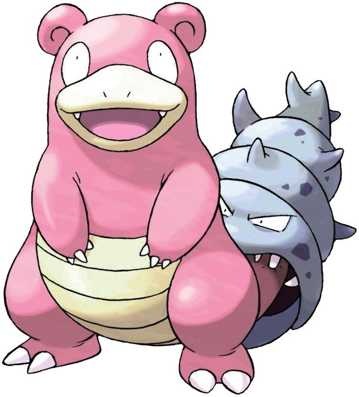 Pokédex entry for #80 Slowbro containing stats, moves ...