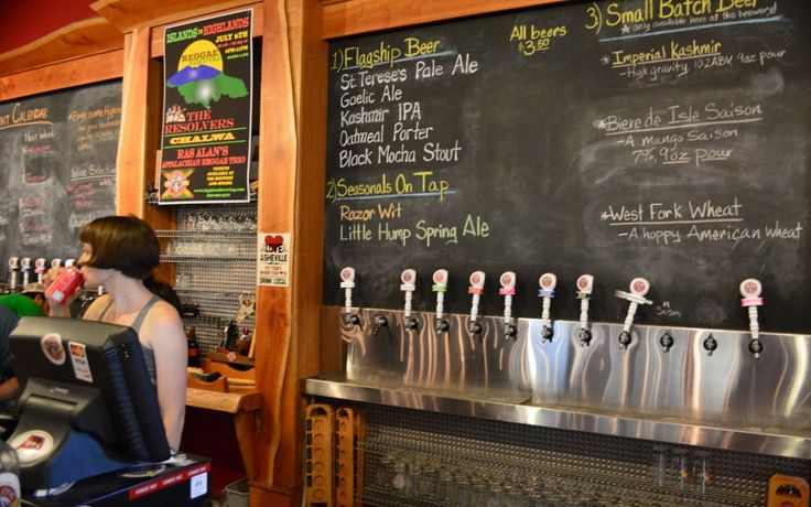 """""""The Napa Valley of Beer"""" - Asheville Brewery Tours North Carolina - Peanuts or Pretzels"""
