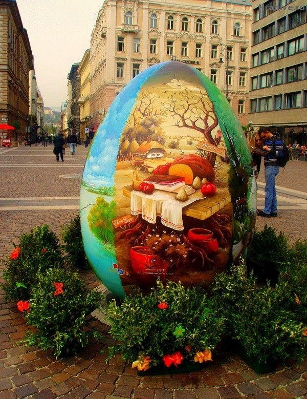 Пасхальный креатив со всего света (яйца-писанки-крашенки)