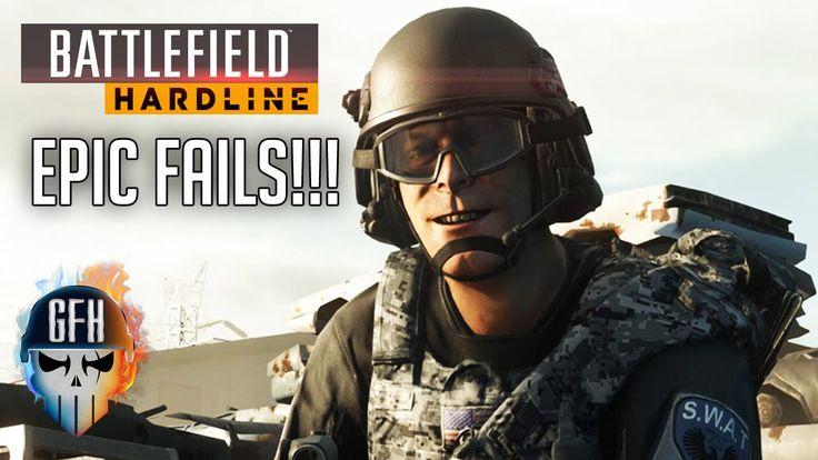 Battlefield Hardline Epic Fails - Double Road Kill *DUCKFACE KILLER*