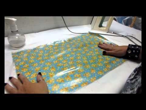 Haciendo telas impermeables ( Tejido impermeable ) - DIY - YouTube