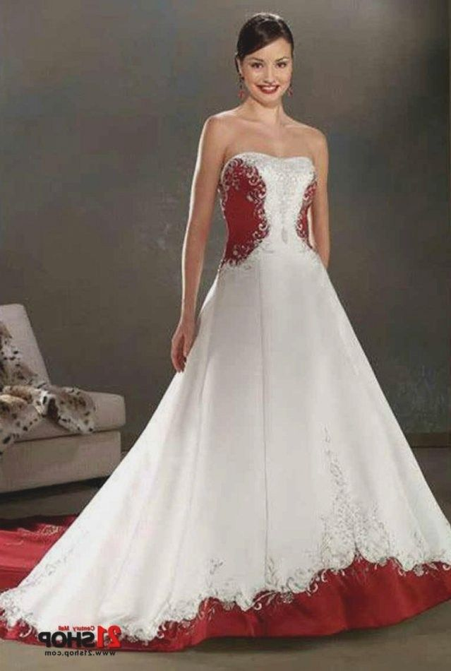 e929b7cacc74 White Wedding Dress With Red Naf Dresses Throughout White Wedding Dress  With Red Sash by thisbestidea