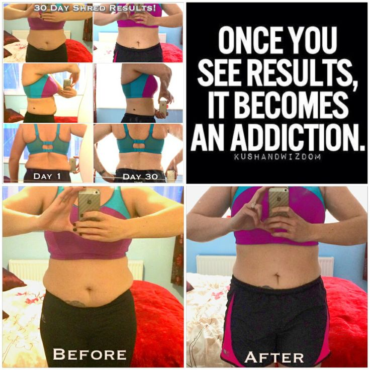 25 best ideas about 30 day shred results on pinterest for Plank workout results