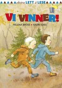 Om boka: Hele skolen skal løpe om kapp! Aksel og Omar går i første klasse. De løper fort, men så snubler Aksel og skogen er full av bær… Boken har store bokstaver (VERSALER). Veldig lite tekst, enkle setninger og tegninger på hver side.