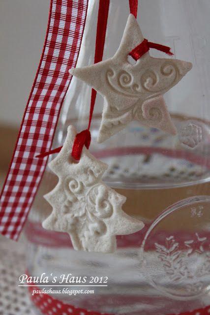 Paula's Haus: Wasser im Weihnachtslook...