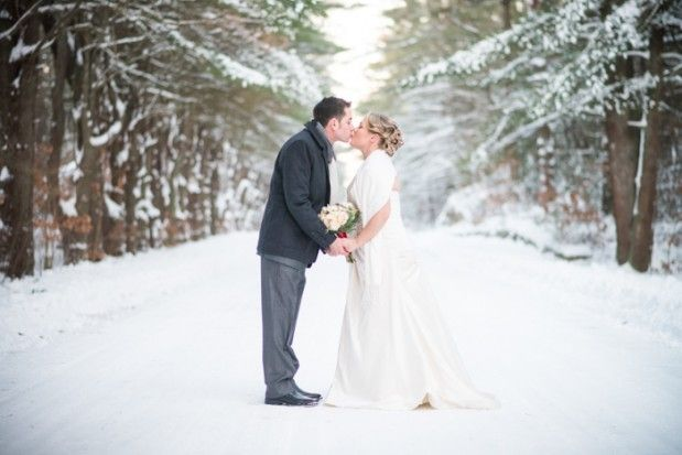 Married in a big white world. Photo by Blueflash Photography