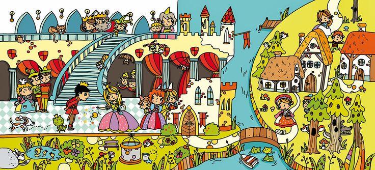 Castillo - Castle http://marianeradova.blogspot.com.es/