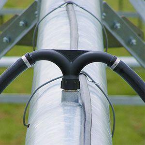 Válvulas especiales para Pivot que garantizan un cierre perfecto en total ausencia de presión. Ideales para asegurar el cierre en Pivots e instalaciones hidráulicas presurizadas mediante bombeo donde una vez terminado el ciclo de funcionamiento se desconectan las bombas y la instalación pierde por completo la presión.